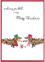 Load image into Gallery viewer, 'Cranberry Sauce' Christmas Cards by Cinnamon Aitch