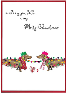 'Cranberry Sauce' Christmas Cards by Cinnamon Aitch