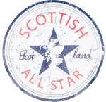 Load image into Gallery viewer, Scottish All Stars T-Shirt - Brave Scottish Gifts