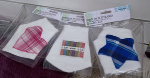 Baby Bib - Scottish Bandana Bib by Cabbie Kids