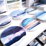 Load image into Gallery viewer, Ceramic Scottish Landscape Coaster - Cath Waters