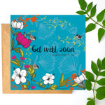 Load image into Gallery viewer, Get Well Card designed by Ilana Ewing