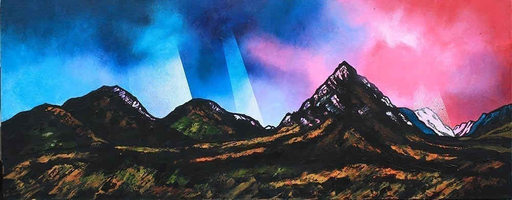 Glencoe Collection Small Mounted Prints by Andy Peutherer