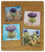 Load image into Gallery viewer, Geoff Foord Thistle Magnet