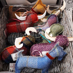 Load image into Gallery viewer, Harris Tweed Highland Cow Handmade by Caroline Wolfe Murray