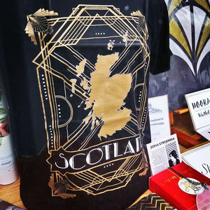 Art Deco Gatsby Style T-Shirt - Brave Scottish Gifts