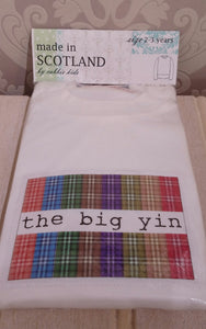 The Big Yin (Long Sleeved T Shirt) by Cabbie Kids