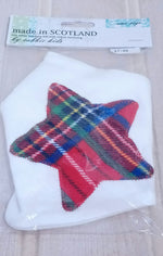Load image into Gallery viewer, Baby Bib - Scottish Bandana Bib by Cabbie Kids