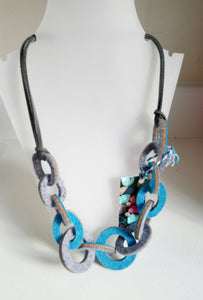 Strata Link Necklace by Syrah Jay