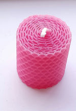 Load image into Gallery viewer, Small Church Candle Made in Scotland by Beesy`s Beeswax Candles