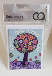 Cinnamon Aitch Pack of 5 Little Cards