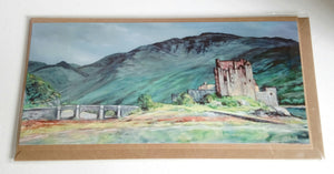 Scottish Long Card Handmade by Cohen Art