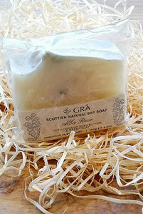 Alba Rose Handmade Soap Made in Scotland by Gra Skincare