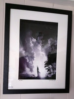 Load image into Gallery viewer, Medium Framed Print by Glasgow artist Andy Hurst