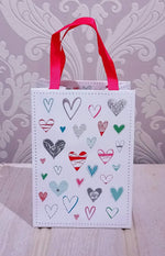 Load image into Gallery viewer, Mini Gift Bag - Small hearts