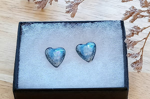 Heart Stud Ceramic Earrings - Margaret MacDonald