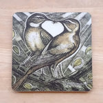 Load image into Gallery viewer, Bird Coasters by Artist Louise Scott