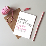 Load image into Gallery viewer, Birthday Always Sparkle - Just Words Cards