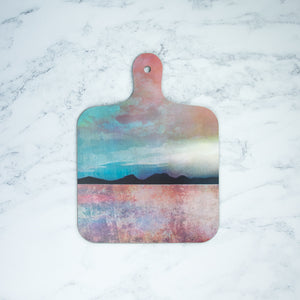 Small Scottish Landscape Chopping Boards by Cath Waters