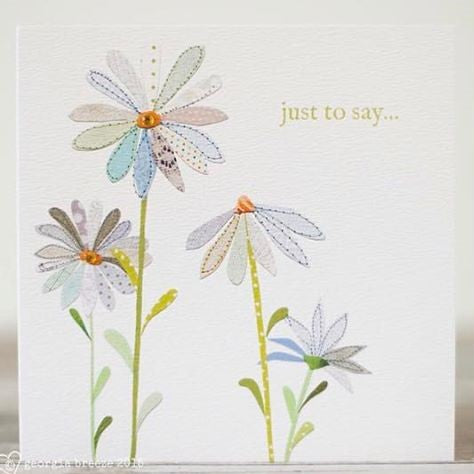 'Just to Say' Georgia Breeze Card