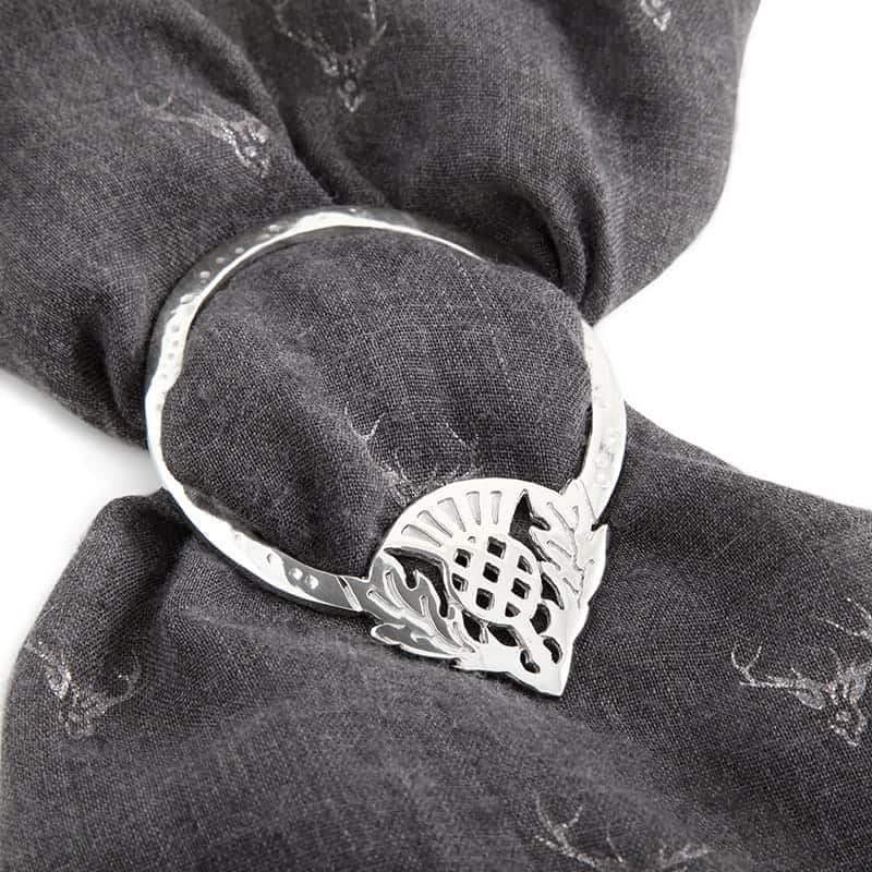 Scarf Ring Made in Scotland by Pewtermill