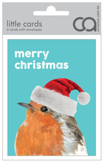 Load image into Gallery viewer, Quirky Christmas little packs of 5 cards by Cinnamon Aitch