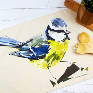 Tea Towel Illustrated by Louise Jennifer Design