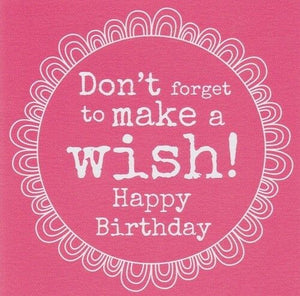 Make a Wish Birthday Card by Always Sparkle - Paper Smiles