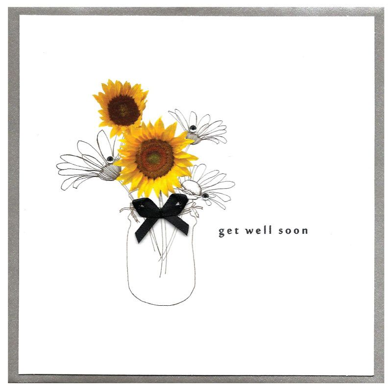 Get Well Soon Piccadilly Card