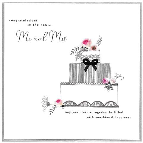 Extra Large Piccadilly Card - Wedding (PXL01)