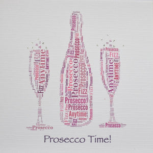 Prosecco Card by Word Art