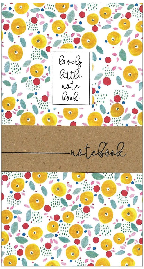 Cinnamon & Aitch Little Notebook