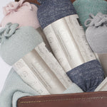 Load image into Gallery viewer, Samantha Holmes Frosted Alpaca Travel Shawl & Pillow