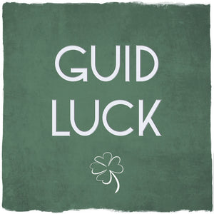 Guid Luck card by Truly Scotland