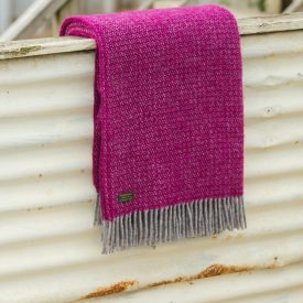 Illusion Large Throw - Pure New Wool Made in the UK by Tweedmill