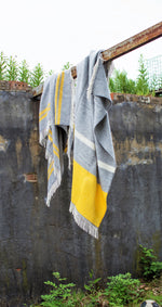 Load image into Gallery viewer, Illusion Panel Knee Blanket - Pure New Wool Made in the UK by Tweedmill