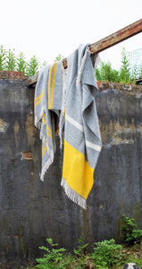 Illusion Panel Knee Blanket - Pure New Wool Made in the UK by Tweedmill