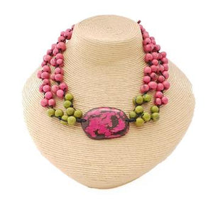 Pretty Pink Aline Necklace