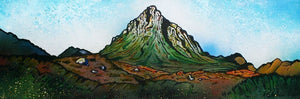 Glencoe Collection Small Mounted Print by Andy Peutherer