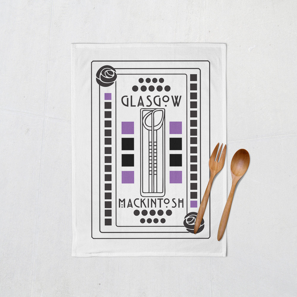 Mackintosh Glasgow Tea Towel