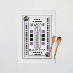 Load image into Gallery viewer, Mackintosh Glasgow Tea Towel
