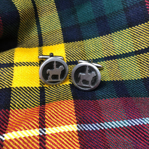 Brave Cufflinks Made in Scotland
