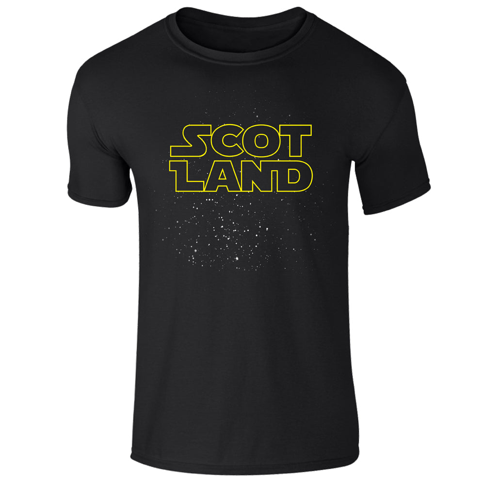Scotland Galaxy T-Shirt - Brave Scottish Gifts