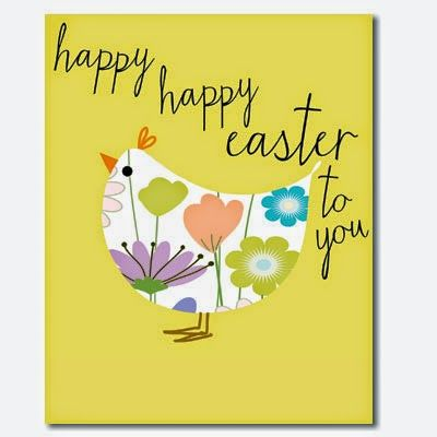 'Happy Happy Easter to you' SS11 Card by Liz and Pip