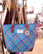 Load image into Gallery viewer, Harris Tweed Large Tote Handbag - Made in Scotland By Clare O`Neil Textiles