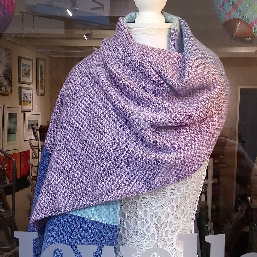 'Harris' Large Scarf / Wrap Handmade by Olive Pearson Designs