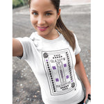 Load image into Gallery viewer, Mackintosh Glasgow - White T-Shirt  - Brave Scottish Gifts