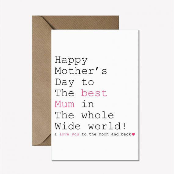 Mother's Day Always Sparkle - Just Words Cards