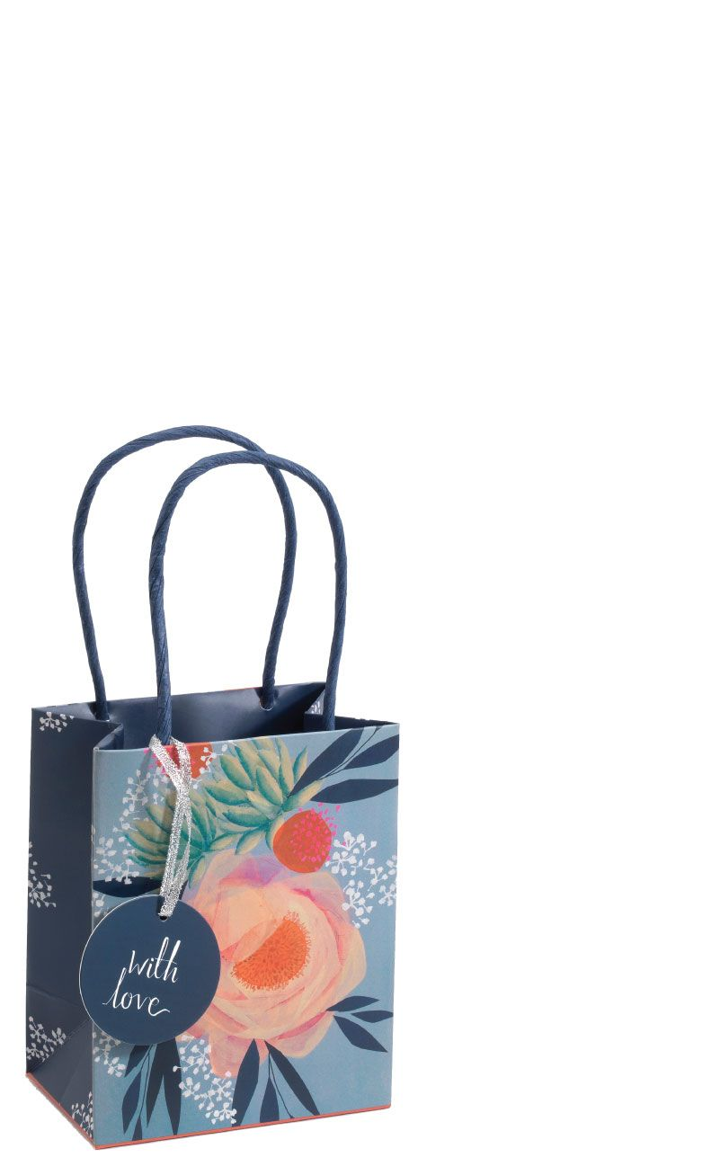 Small Floral Gift Bag