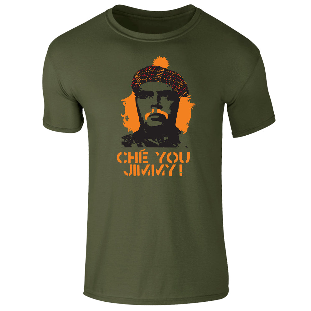 Che You Jimmy Scottish T-Shirt by Brave Scottish Gifts